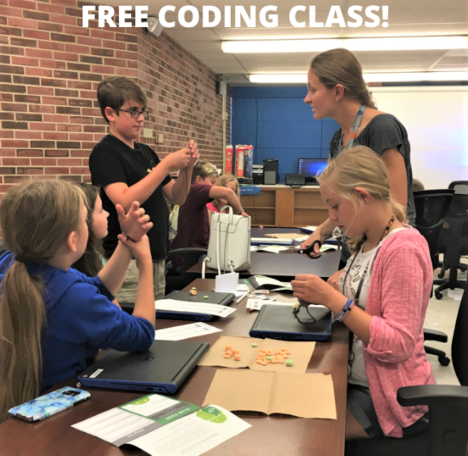 Free Coding Club for ages 10+ has openings; meets on first Tuesdays