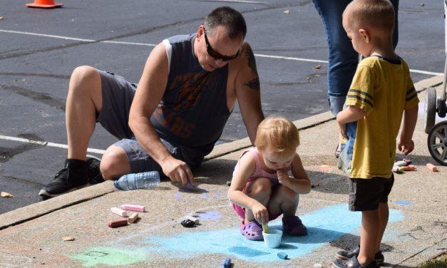 The Martinsville Chamber Sidewalk Chalk Art Contest is BACK!