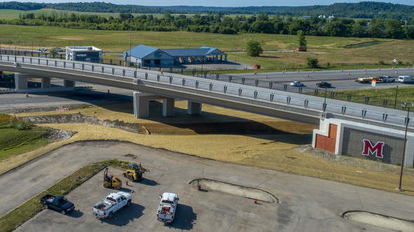 Grand Valley Boulevard Bridge project named finalist for America's Transportation Awards; People's Choice voting open online